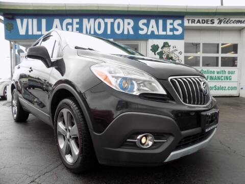 2013 Buick Encore for sale at Village Motor Sales in Buffalo NY