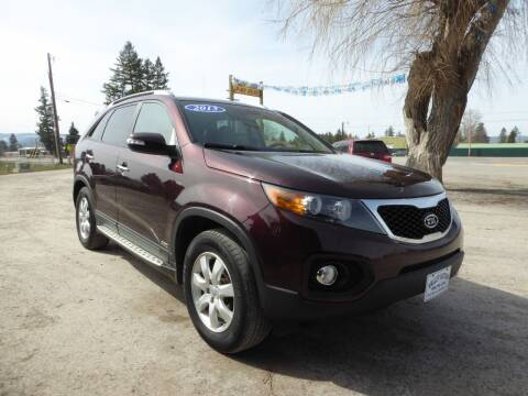 2013 Kia Sorento for sale at VALLEY MOTORS in Kalispell MT
