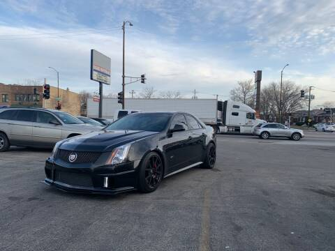 2013 Cadillac CTS-V for sale at Alpha Motors in Chicago IL