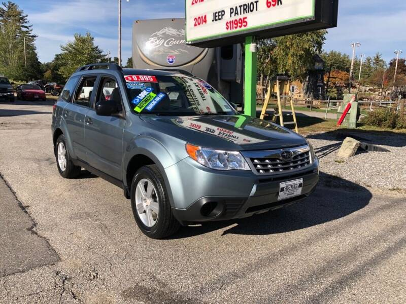 2012 Subaru Forester for sale at Giguere Auto Wholesalers in Tilton NH