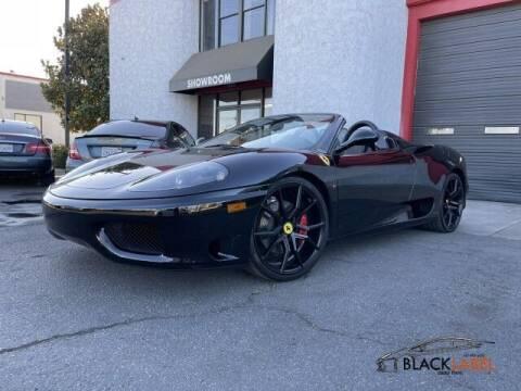 2004 Ferrari 360 Spider for sale at BLACK LABEL AUTO FIRM in Riverside CA