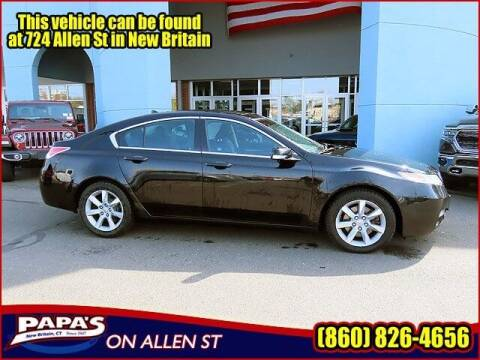 2012 Acura TL for sale at Papas Chrysler Dodge Jeep Ram in New Britain CT