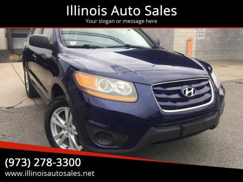 2010 Hyundai Santa Fe for sale at Illinois Auto Sales in Paterson NJ