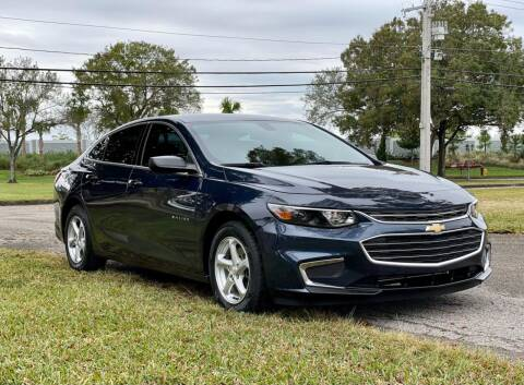 2017 Chevrolet Malibu for sale at Sunshine Auto Sales in Oakland Park FL