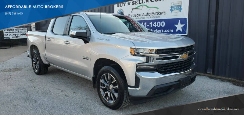 2020 Chevrolet Silverado 1500 for sale at AFFORDABLE AUTO BROKERS in Keller TX