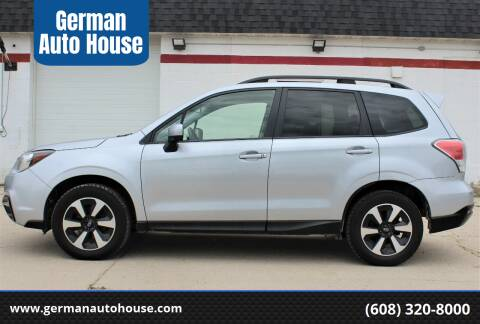 2017 Subaru Forester for sale at German Auto House in Fitchburg WI