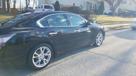 2014 Nissan Maxima for sale at Bottom Line Auto Exchange in Upper Darby PA