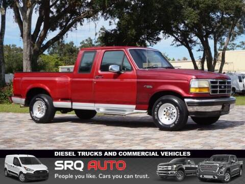 1993 Ford F-150 for sale at SRQ Auto LLC in Bradenton FL