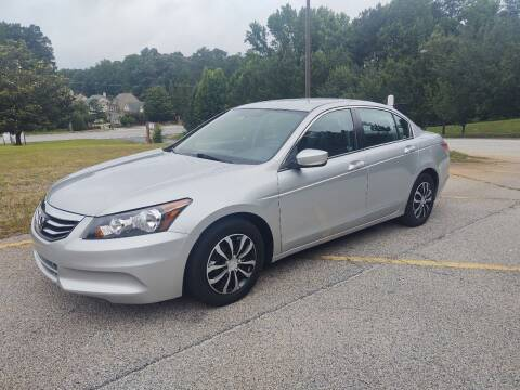 2012 Honda Accord for sale at WIGGLES AUTO SALES INC in Mableton GA