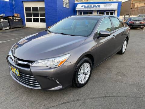 2016 Toyota Camry for sale at AGM AUTO SALES in Malden MA