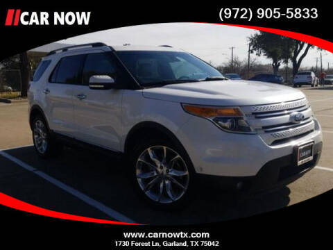 2013 Ford Explorer for sale at Car Now Dallas in Dallas TX