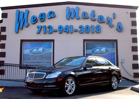 2013 Mercedes-Benz C-Class for sale at MEGA MOTORS in South Houston TX
