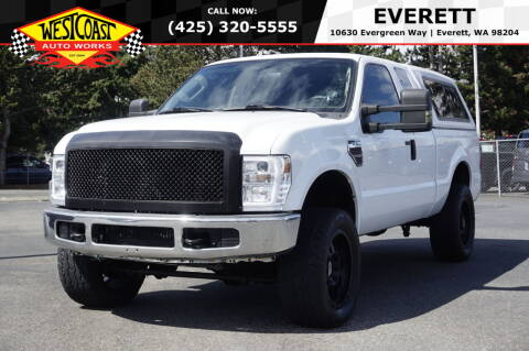 2008 Ford F-250 Super Duty for sale at West Coast Auto Works in Edmonds WA
