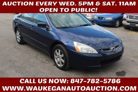 2005 Honda Accord for sale at Waukegan Auto Auction in Waukegan IL