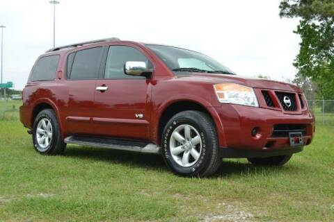 2008 Nissan Armada for sale at WOODLAKE MOTORS in Conroe TX