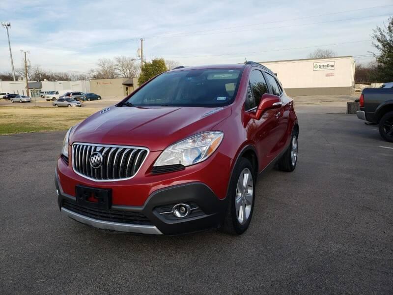 2014 Buick Encore for sale at Image Auto Sales in Dallas TX