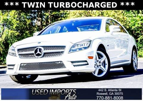 2012 Mercedes-Benz CLS for sale at Used Imports Auto in Roswell GA