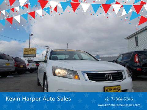 2008 Honda Accord for sale at Kevin Harper Auto Sales in Mount Zion IL