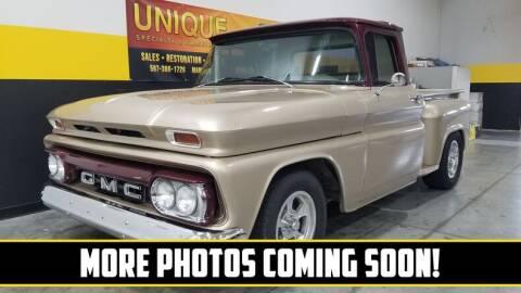 1961 GMC C/K 1500 Series for sale at UNIQUE SPECIALTY & CLASSICS in Mankato MN
