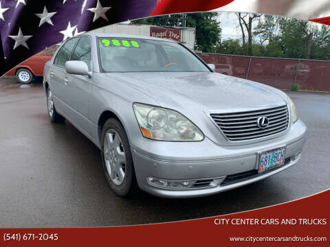 2004 Lexus LS 430 for sale at City Center Cars and Trucks in Roseburg OR