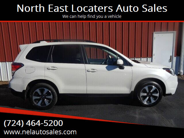 2017 Subaru Forester for sale at North East Locaters Auto Sales in Indiana PA