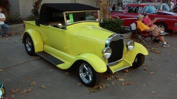 1929 Ford Model A Roadster Pick Up for sale at HIGH-LINE MOTOR SPORTS in Brea CA