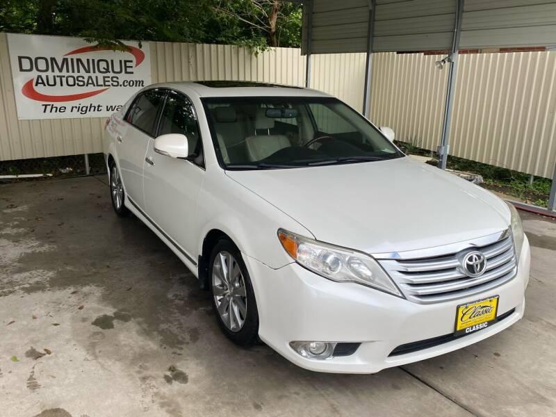 2012 Toyota Avalon for sale at Dominique Auto Sales in Opelousas LA