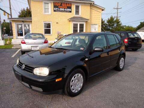 2006 Volkswagen Golf for sale at Top Gear Motors in Winchester VA