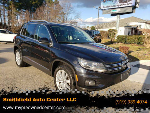 2014 Volkswagen Tiguan for sale at Smithfield Auto Center LLC in Smithfield NC