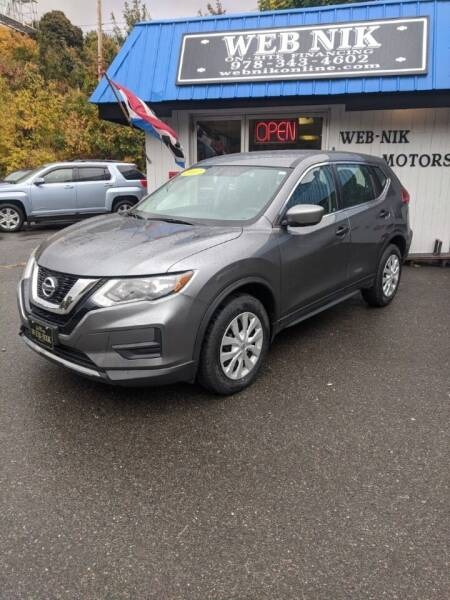 2017 Nissan Rogue for sale at WEB NIK Motors in Fitchburg MA