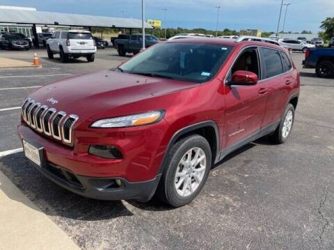 2017 Jeep Cherokee for sale at Jerry's Buick GMC in Weatherford TX