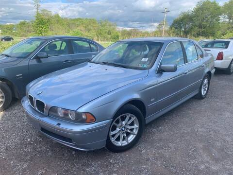 2003 BMW 5 Series for sale at Trocci's Auto Sales in West Pittsburg PA