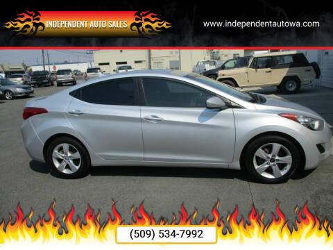 2011 Hyundai Elantra for sale at Independent Auto Sales #2 in Spokane WA