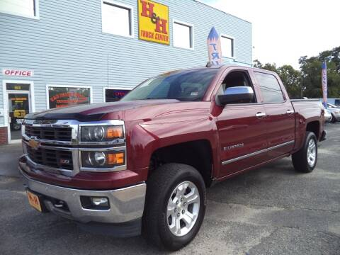 2014 Chevrolet Silverado 1500 for sale at H and H Truck Center in Newport News VA