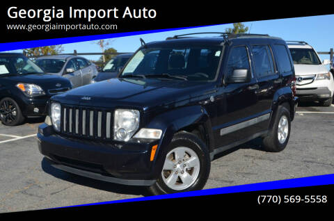 2011 Jeep Liberty for sale at Georgia Import Auto in Alpharetta GA