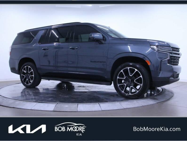 2021 Chevrolet Suburban for sale at Bob Moore Kia in Oklahoma City OK