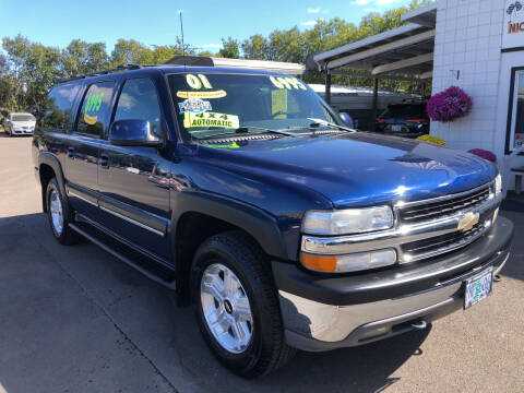 2001 Chevrolet Suburban for sale at Freeborn Motors in Lafayette OR