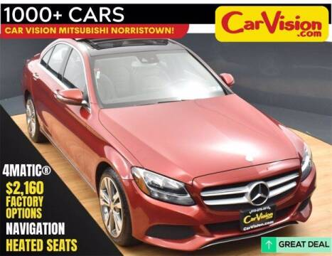 2016 Mercedes-Benz C-Class for sale at Car Vision Buying Center in Norristown PA