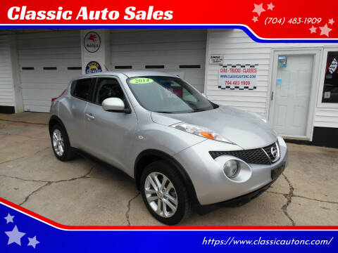 2014 Nissan JUKE for sale at Classic Auto Sales in Maiden NC