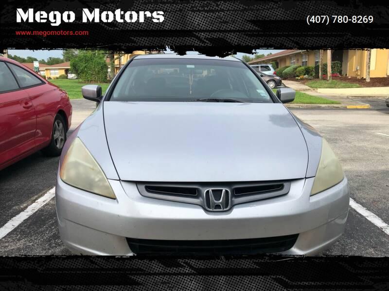 2004 Honda Accord for sale at Mego Motors in Orlando FL
