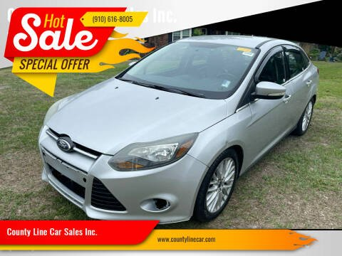 2014 Ford Focus for sale at County Line Car Sales Inc. in Delco NC