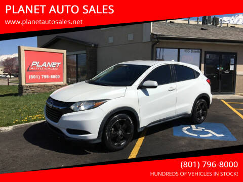 2016 Honda HR-V for sale at PLANET AUTO SALES in Lindon UT