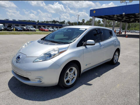 2013 Nissan LEAF for sale at IMAGINE CARS and MOTORCYCLES in Orlando FL