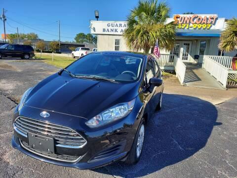 2019 Ford Fiesta for sale at Sun Coast City Auto Sales in Mobile AL