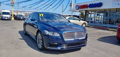 2017 Lincoln Continental for sale at I-80 Auto Sales in Hazel Crest IL