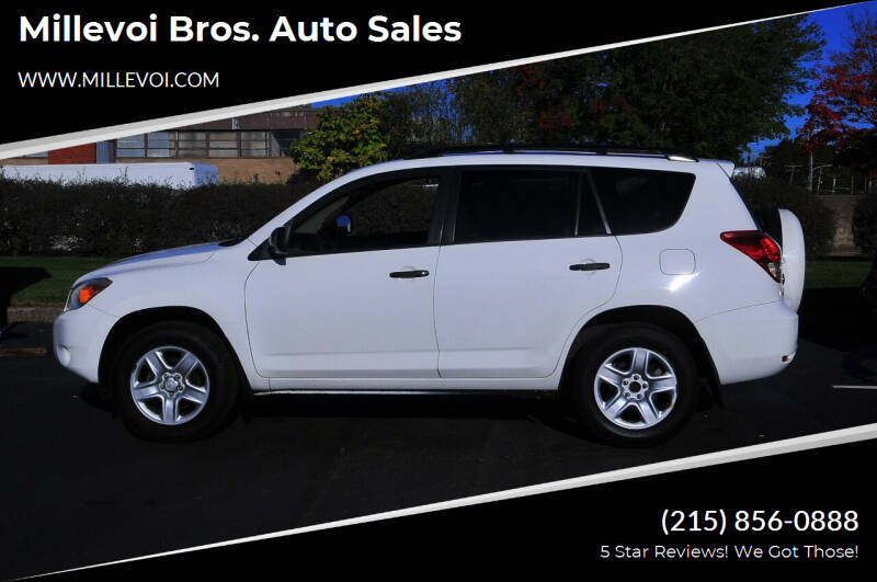 2008 Toyota RAV4 for sale at Millevoi Bros. Auto Sales in Philadelphia PA