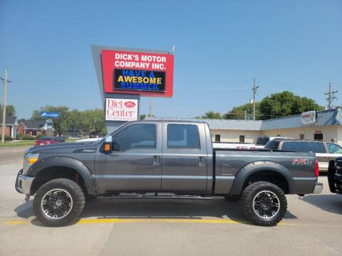 2016 Ford F-250 Super Duty for sale at DICK'S MOTOR CO INC in Grand Island NE