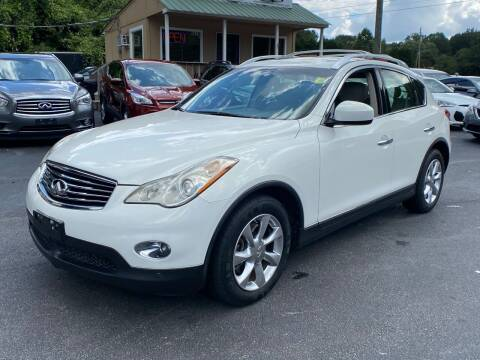2008 Infiniti EX35 for sale at Luxury Auto Innovations in Flowery Branch GA