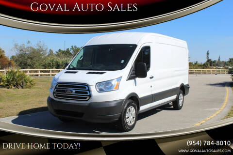 2018 Ford Transit Cargo for sale at Goval Auto Sales in Pompano Beach FL