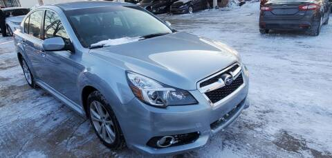2013 Subaru Legacy for sale at Divine Auto Sales LLC in Omaha NE